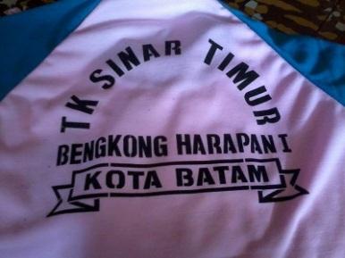 Bikin baju olahraga TK - 0811-598-6161